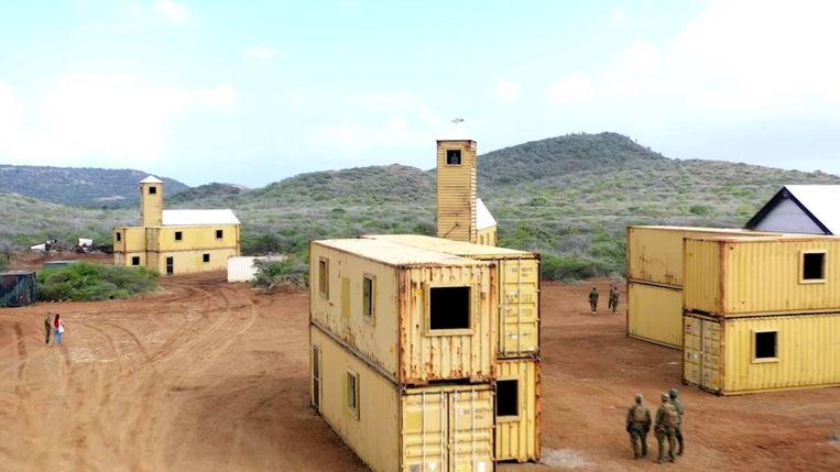 Het militaire oefengebied op Curaçao. Beeld Facebook