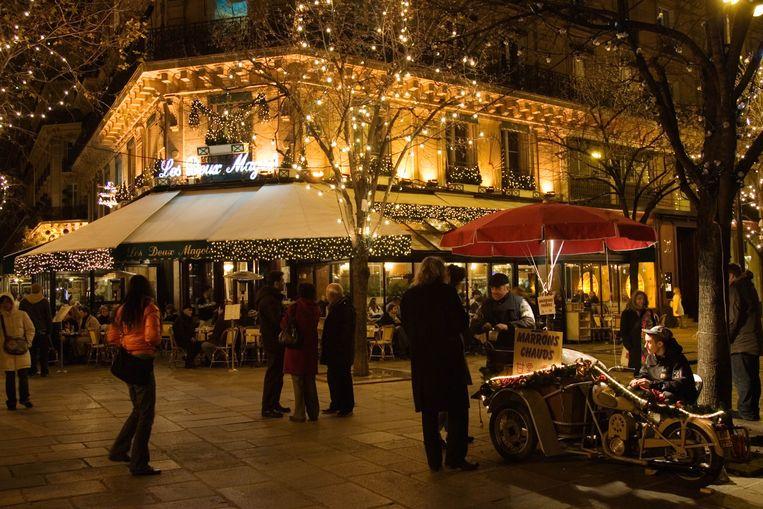 Boulevard St Germain, Parijs. Beeld Tim Graham/Getty Images
