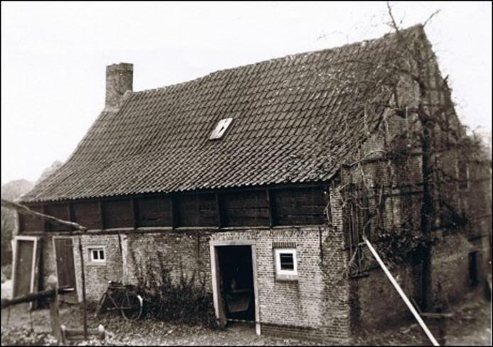 Brouwerij de Roskam in 1940, vlak voor deze werd afgebroken. foto HKK Paulus van Daesdonck