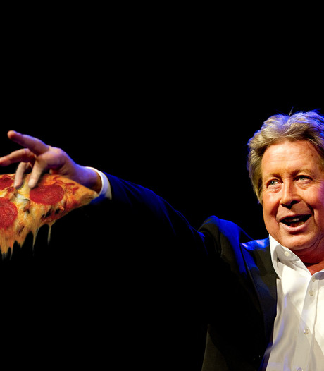 Hans Kazàn is verslaafd aan superpittige pizza's