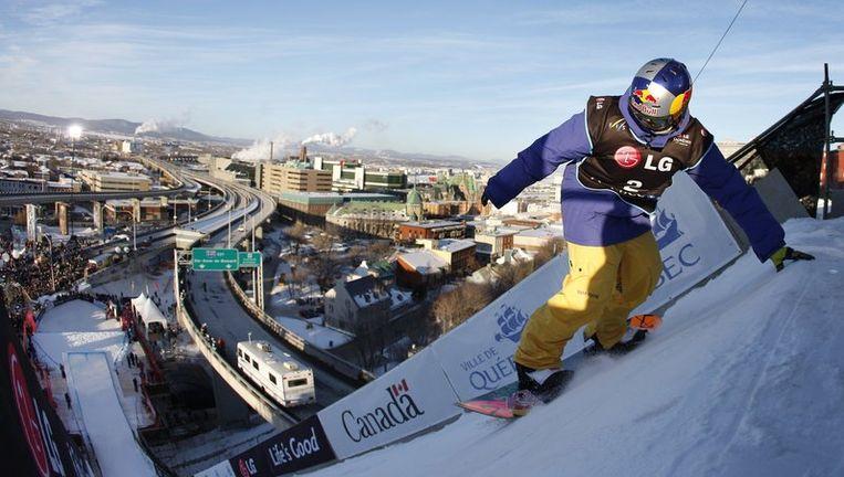 Snowboarder Seppe Smits maakt nog steeds (een kleine) kans op de Winterspelen in Vancouver. Beeld UNKNOWN
