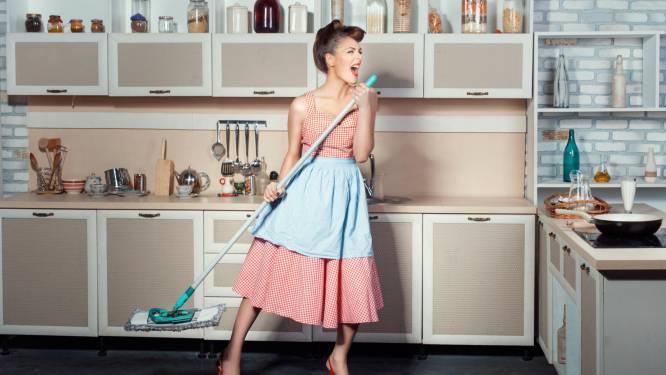 Het huishouden doen is óók sporten, zoveel calorieën verbruik je ermee