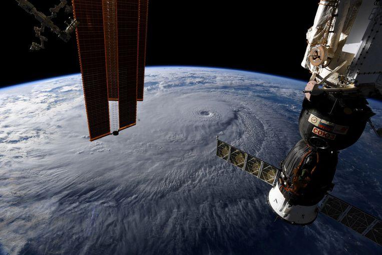 Het International Space Station (ISS) Beeld REUTERS