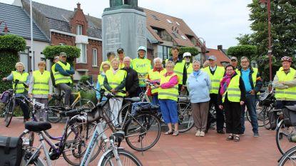 Vief en fietsers Burgersgilde starten met wekelijkse gezamenlijke fietstochten