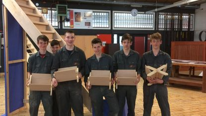 Leerlingen 4 Hout nemen deel aan Vlaamse houtproef