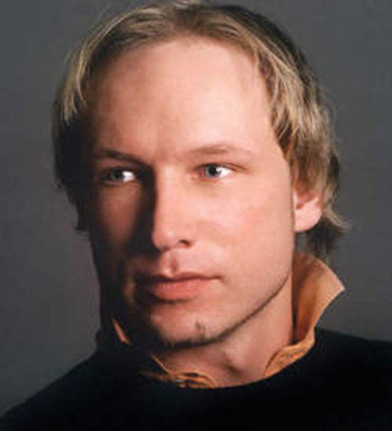 Anders Behring Breivik (32) de vermoedelijke dader van beide aanslagen. Beeld