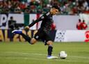 Edson Alvarez in actie voor Mexico op de Gold Cup vorige week.
