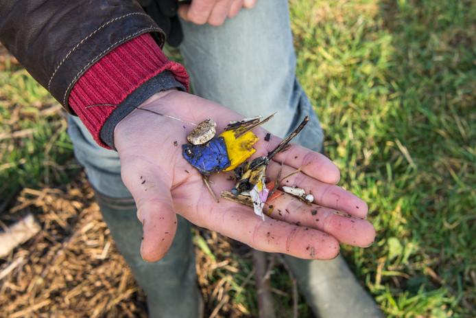 De rivierjutters verzamelden afgelopen voorjaar 1.300 kilo afval in de uiterwaarden.