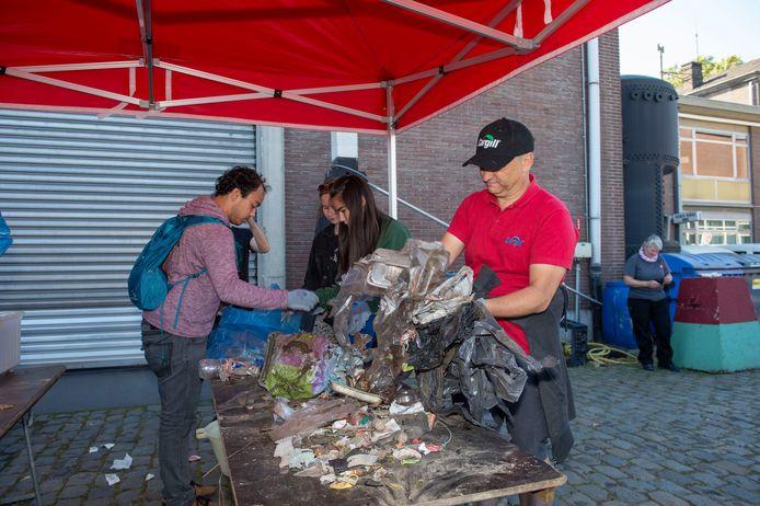 World Clean up Day in Antwerpen