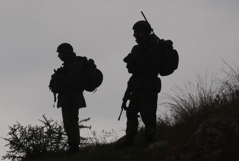 Israëlische soldaten (archiefbeeld). Beeld reuters