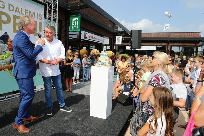 Robèrt van Beckhoven verrichtte de feestelijke opening.