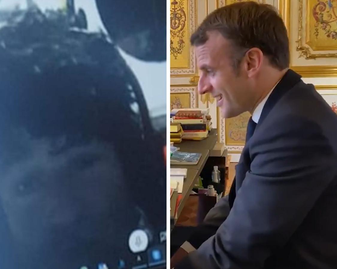 Le président de la République Française, Emmanuel Macron, a appelé le navigateur breton Jean Le Cam pour le féliciter d'avoir sauvé son concurrent Kevin Escoffier.