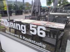 Dining 56 mag van rechter terras aan overkant Rijnkade houden