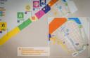 Er werden verscheidene zones aangeduid en looproutes uitgestippeld.