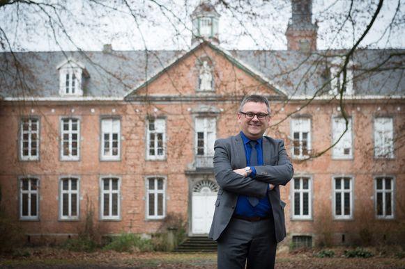 Burgemeester Luc de boeck, verantwoordelijk voor Ruimtelijke Ordening.