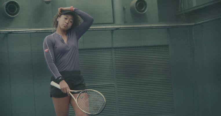 De Amerikaans-Japanse tennisster Naomi Osaka in de eerste aflevering van de serie. Beeld NETFLIX