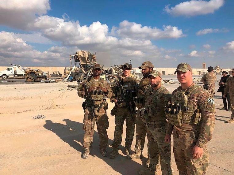 Amerikaanse militairen in Irak. Beeld AP