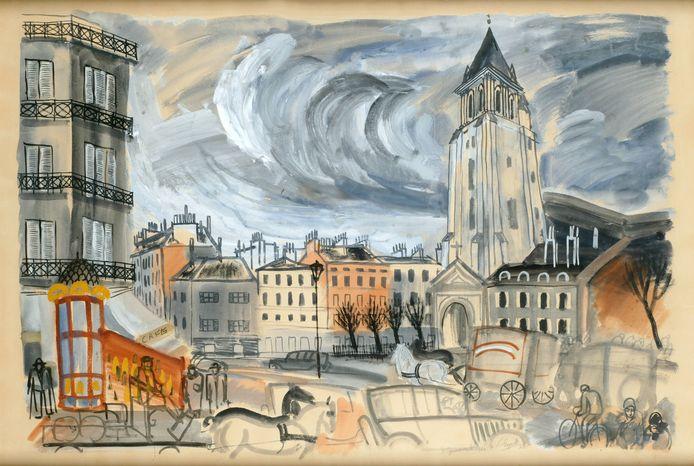 St. Germain des Prés 1928.