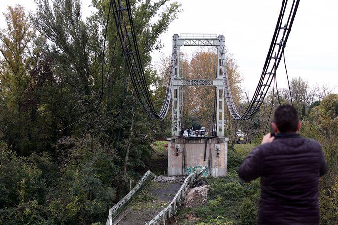 De brug is een jaar geleden nog geïnspecteerd en werd in goede staat bevonden.