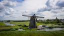 De Goudriaanse molen heeft dinsdagochtend een wiek verloren.