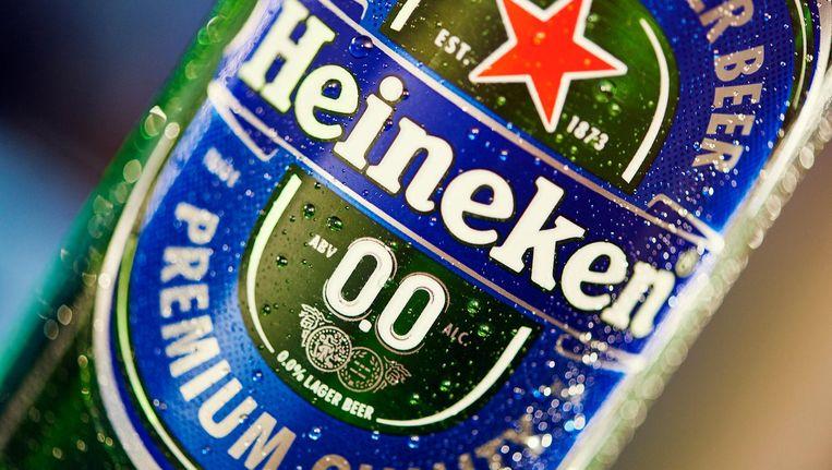 Voor het eerst in een blauwe verpakking Beeld Heineken