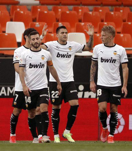 Cillessen behoedt Valencia van degradatie met clean sheet in ruime overwinning