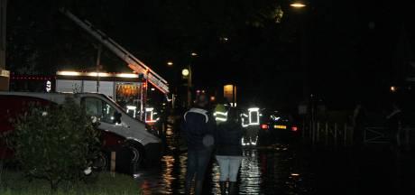 Wateroverlast door noodweer in Zeeland