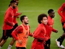 Un espoir de voir Eden Hazard face au Danemark, Witsel et Meunier seront suspendus