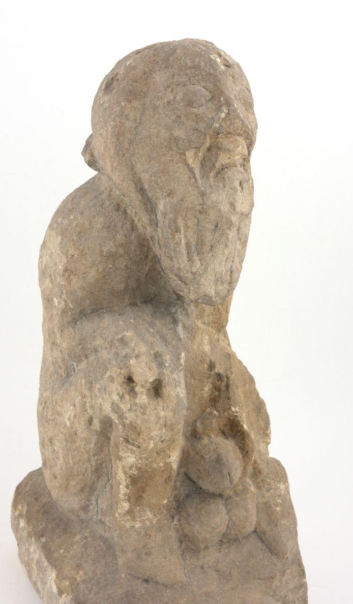 Van de Wiele Auctions verkoopt op 1 oktober deze Priapus die in 1900 werd gevonden in Mechelen.