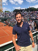 Christophe Thys, directeur de la Brussels Tennis School