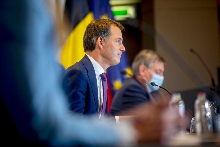 Premier Alexander De Croo. Beeld Photo News
