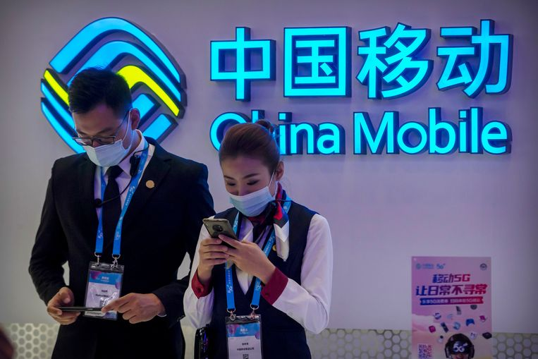 Onder meer de uitvoer van elektronica droeg bij aan de Chinese exportpiek in de eerste twee maanden van het jaar. Beeld AP