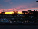 Zonsondergang boven Kampen