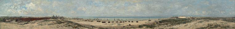Hendrik Willem Mesdag, een studie voor panorama van Scheveningen, 1880. Beeld De Mesdag Collectie, Den Haag