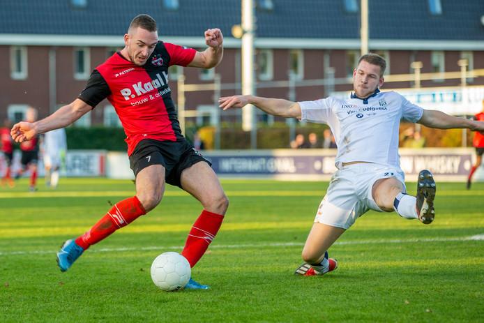 Coen Maertzdorf haalt uit namens De Treffers tegen Koninklijke HFC.