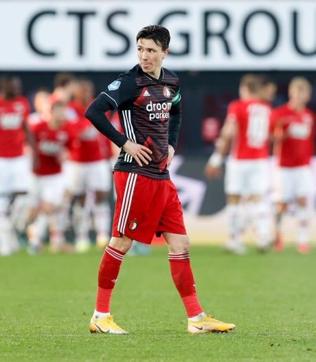 Feyenoord keek volop beelden AZ-uit terug, al zat overtreding Berghuis er niet tussen