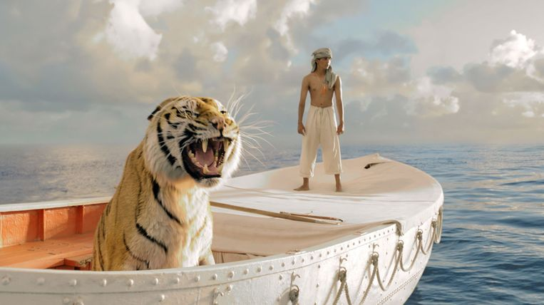 Suraj Sharma in 'Life of Pi' Beeld Web
