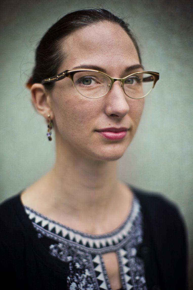 Erin Saltman. Beeld Jonas Lampens