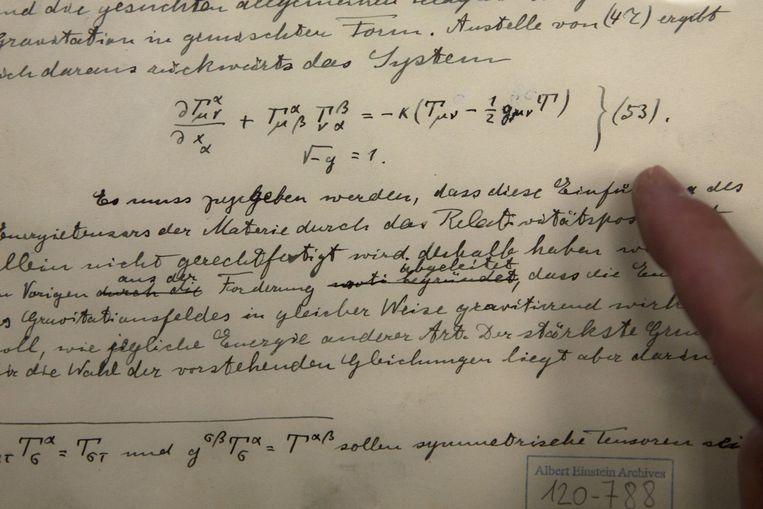Honderd jaar geleden maakte Einstein al gewag zwaartekrachtgolven.