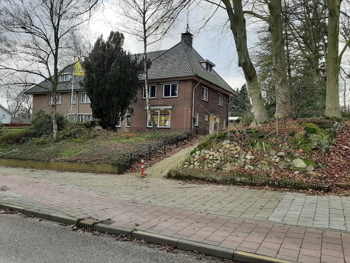 Het oude politiebureau van Groesbeek aan de Molenweg.