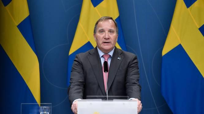 Zweedse premier Stefan Löfven kondigt ontslag aan