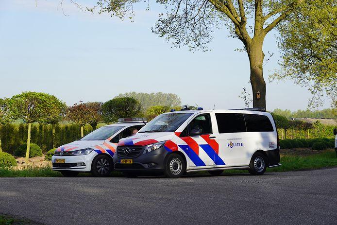 Een 32-jarige man zonder vaste woon- of verblijfplaats is woensdagochtend aangehouden voor bedrijfsinbraak aan het Lissenveld in Raamsdonksveer. Op de foto: de plek van aanhouding op de Rimpelaar in Molenschot.