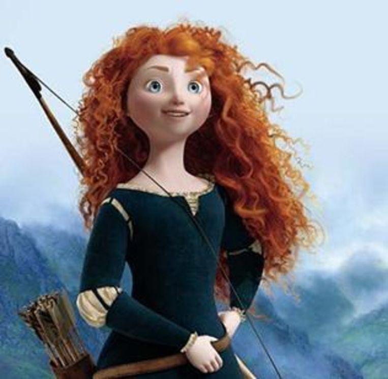 De orginele Merida Beeld Pixar/ Disney