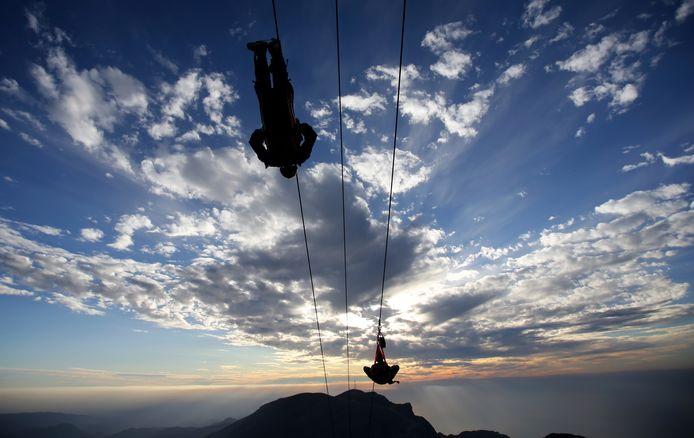 De 'Jebel Jais Flight' is officieel geopend op de hoogste berg van de Verenigde Arabische Emiraten.