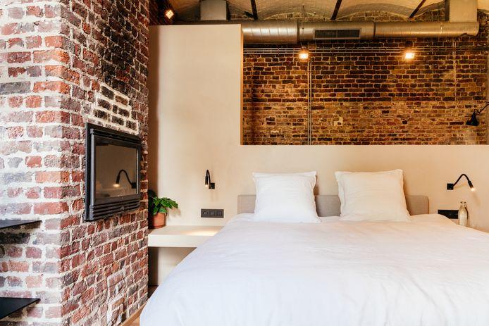 Luxe tweepersoonskamer.