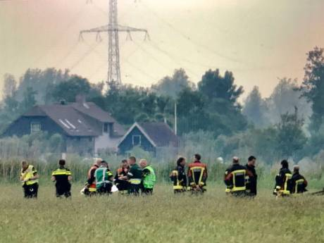 Twee doden na neerstorten vliegtuigje Bergambacht