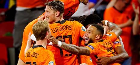 Fotoserie Oranje |  De spectaculaire start van het Nederlands elftal in beeld