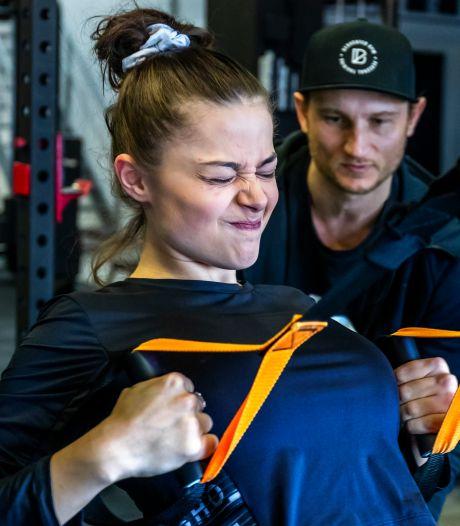 Zó stoomde deze Utrechtse sportschool de Grieks-Nederlandse Stefania (18) klaar voor het Songfestival