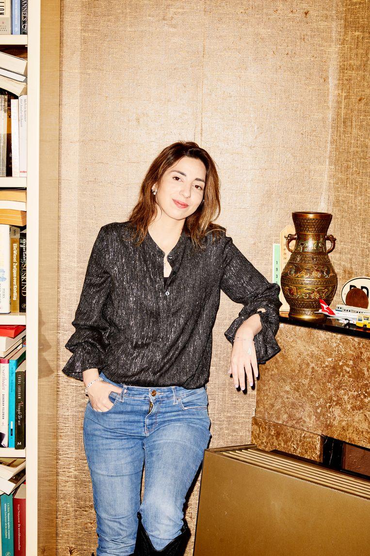 Natascha van Weezel: 'Ik denk dat als je deze politici gaat boycotten hun aanhangers terecht zullen zeggen dat ze niet worden gehoord.' Beeld Marie Wanders