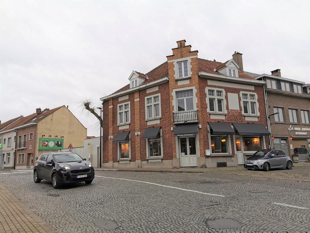Bistro Teirlinck was gevestigd op het Herman Teirlinckplein.